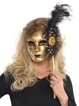 Adult Gold Venetian Mask