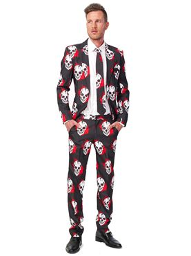 Adult Skulls Blood Suitmeister Suit