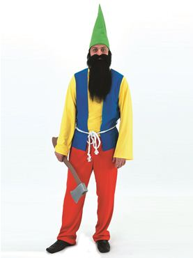 Adult Bashful Gnome Costume
