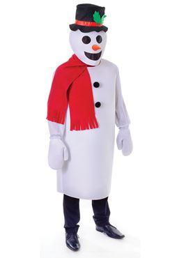 Adult Snowman Costume Thumbnail