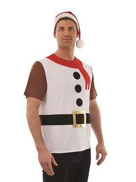 Adult Snowman T-Shirt