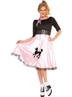 Adult Sock Hop Sally Costume