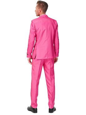 Adult Solid Pink Suitmeister Suit - Back View