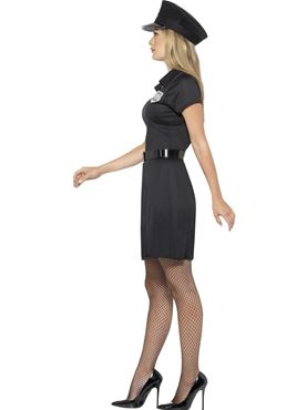 Adult Special Constable Costume - Back View