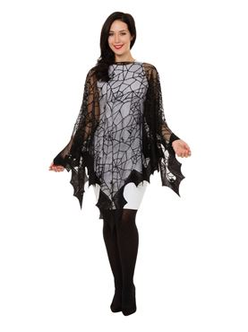 Adult Spider Web Cape