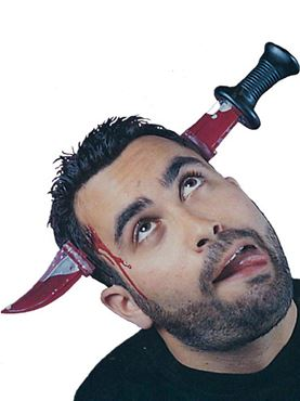 Adult Splitting Headache Headband