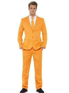 Adult Stand Out Orange Suit