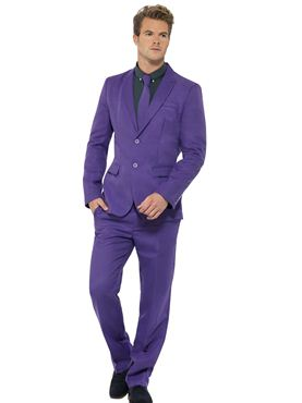 Adult Stand Out Purple Suit