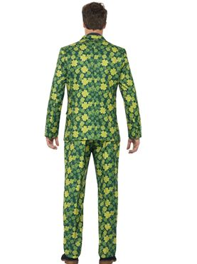 Adult Stand Out Shamrock Suit - Back View