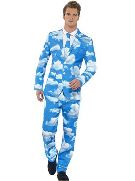Adult Stand Out Sky High Suit