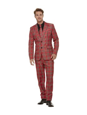 Adult Stand Out Tartan Suit