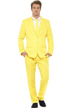 Adult Stand Out Yellow Suit