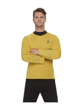 Adult Star Trek Original Series Command Costume Couples Costume