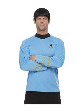 Adult Star Trek Original Series Sciences Costume Couples Costume