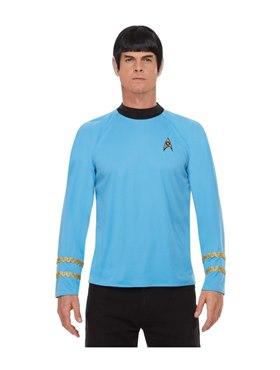 Adult Star Trek Original Series Sciences Costume - Back View