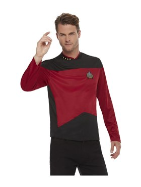 Adult Star Trek The Next Generation Command Costume Couples Costume