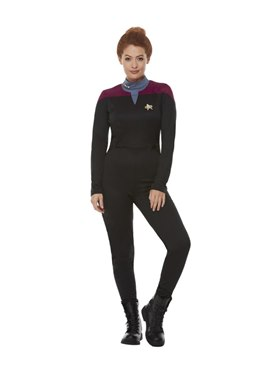 Adult Star Trek Voyager Command Costume - Back View