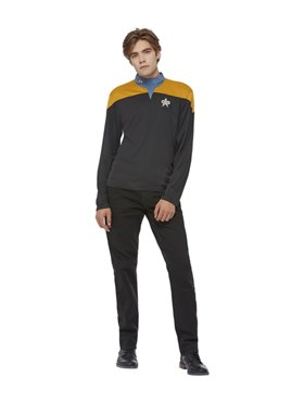 Adult Star Trek Voyager Operations Uniform Costume Couples Costume
