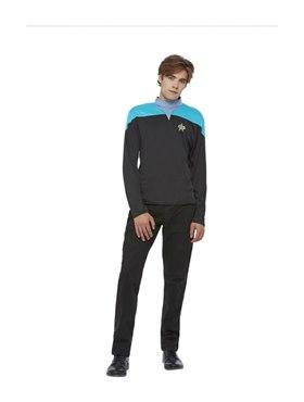 Adult Star Trek Voyager Science Uniform Costume