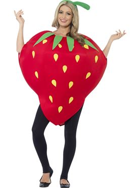 Adult Strawberry Costume Thumbnail