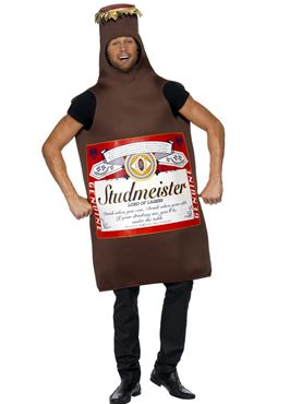 Adult Studmeister Beer Bottle Costume Couples Costume