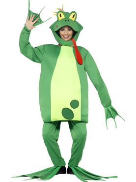 Adult Frog Prince Costume - Back View