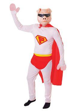 Adult Super Pig Costume