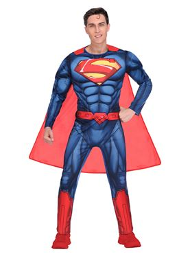 Adult Superman Classic Mens Costume