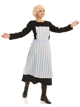 Adult Swiss Nanny Costume