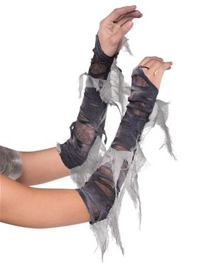 Adult Tattered Arm Warmers