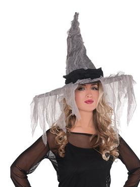 Adult Tattered Witch Hat