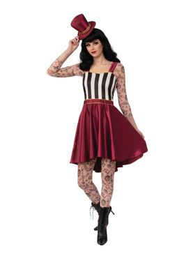 Adult Tattooed Lady Costume