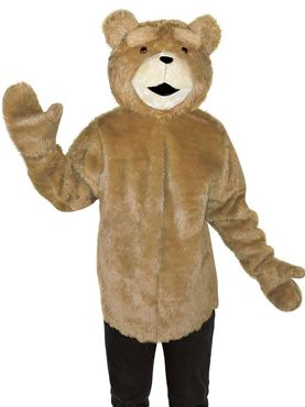 Adult Deluxe Ted the Movie Tunic Costume