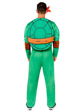 Adult Teenage Mutant Ninja Turtles Costume - Back View