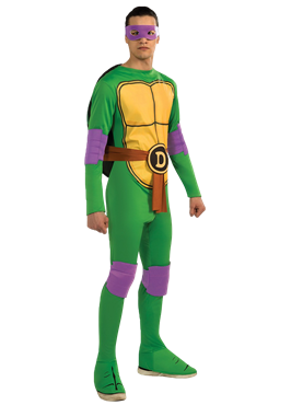 Adult Teenage Mutant Ninja Turtles Donatello Costume Couples Costume