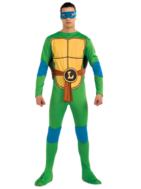 Adult Teenage Mutant Ninja Turtles Leonardo Costume Couples Costume