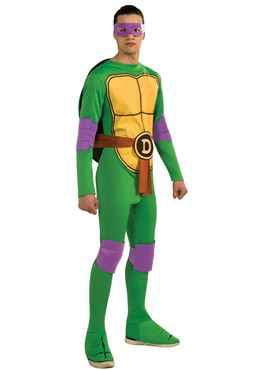 Adult Teenage Mutant Ninja Turtles Donatello Costume