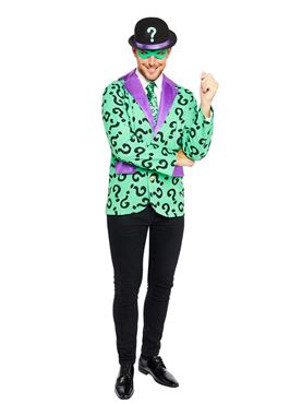 Adult The Riddler Costume - Side View
