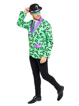 Adult The Riddler Costume - Back View
