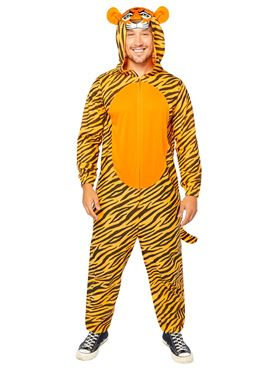 Adult Tiger Onesie Costume Couples Costume
