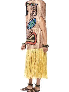 Adult Tiki Totem Costume - Back View