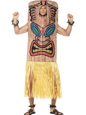 Adult Tiki Totem Costume