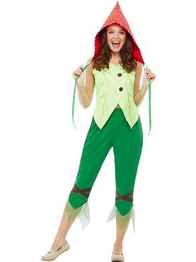 Adult Toadstool Pixie Costume