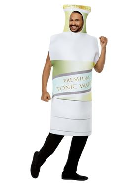 Adult Tonic Bottle Costume Couples Costume