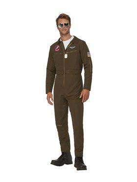 Adult Top Gun Maverick Men's Aviator Costume