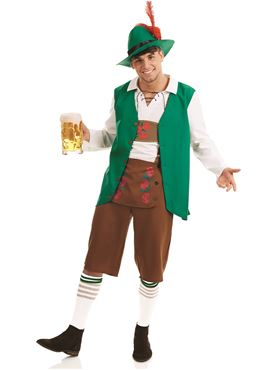 Adult Traditional Bavarian Man Costume