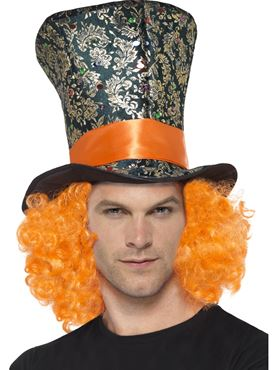 Adult Mad Hatter Top Hat