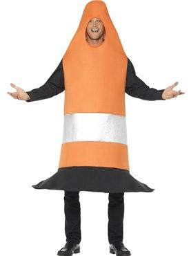 Adult Traffic Cone Costume