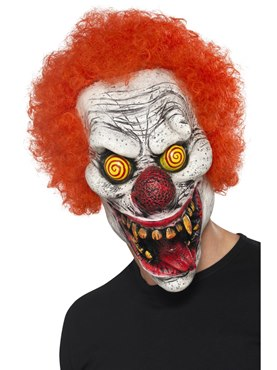 Adult Twisted Clown Mask