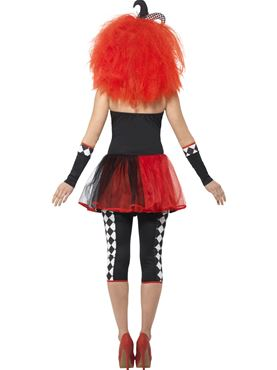 Adult Twister Harlequin Costume - Side View